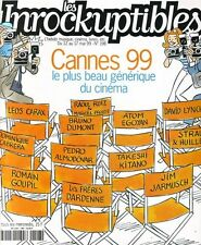"""Les Inrockuptibles #198 -CANNES 99- """"Pola X"""", Moby..."""