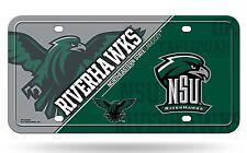 Northeastern State Riverhawks NSU NSD200602 Metal License Plate Tag University