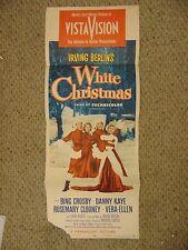 Danny Kaye Bing Crosby White Christmas Original Insert Movie Poster #L9502