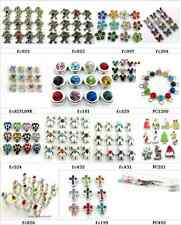 12pcs Birthstone Series Floating Charms for Glass Memory locket Floating locket