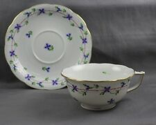 Herend China Blue Garland Cup & Saucer (s) 734