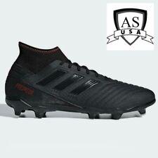 Adidas Predator 19.3 FG Men's Soccer Cleats Shoes D97942 Black Size 10.5 NEW