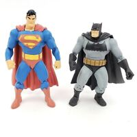 "The Dark Knight Returns BATMAN & SUPERMAN 7"" Inch Action Figures DC Direct 2004"