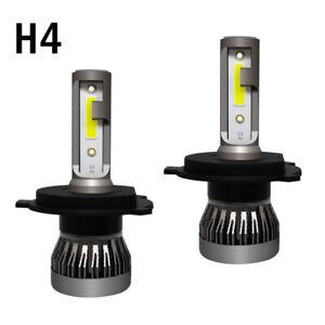 Pair Car SUV 6000K H4 9003 HB2 LED Headlight Kit 1200W 6000LM Hi/Lo Beam Bulb