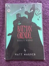Batman/Grendel (1993) Vol 1 issue 1 DC/Comico comic