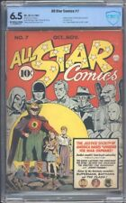 All Star Comics 7 CBCS 6.5 OWW Golden Age Key 1st Superman & Batman IGKC L@@K