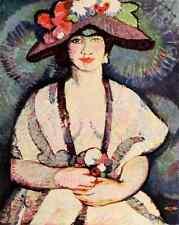 A4 photo riz Anne Estelle 1877 1959 Le nouvel esprit dans drame & art 1913 étude pr