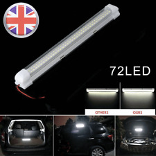72 LED Interior Light Strip Bar Car Van Bus Caravan ON/OFF Switch 12V 12 VOLT