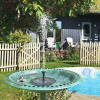 Panneau Solaire Source d/'Eau Fish Tank pompe de bassin piscine maison jardin arrosage Viz