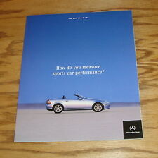 Original 2001 Mercedes-Benz SLK-Class Deluxe Sales Brochure 01 230 320