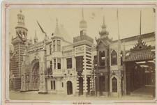 Paris, Exposition Universelle de 1889. Rue de Nations  Vintage albumen print. Ca
