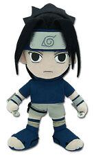 "1x Sealed Naruto 9.5"" Sasuke in Blue Great Eastern GE-7046 Stuffed Plush Doll"