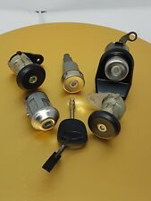 GENUINE FORD ESCORT MK 4 COMPLETE LOCK SET (NEW SUPERB CONDITION WITH 4 KEYS)
