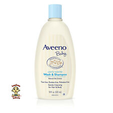 Aveeno Baby Wash and Shampoo 18 oz (532 ml) Tear Free Authentic and  Brand New