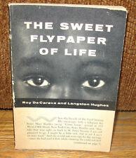 Roy DeCarava Langston Hughes The Sweet Flypaper Of Life  Original 1955 Gravure