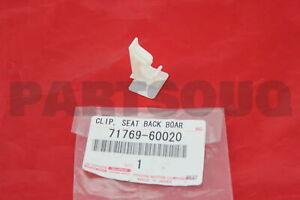 7176960020 Genuine Toyota CLIP, FRONT SEAT BACK BOARD 71769-60020