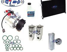 A/C Compressor and Condenser Kit Fits Honda Civic 2001-2002 L4 1.7L TRS090 77599