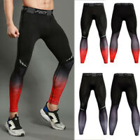 Men's Compression Pants Base Layer Tights Sports Apparel Fitness Gym Quick dry