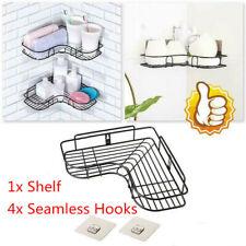 Bathroom Kitchen Rack Shelf Organizer Holder Storage Shower Caddy Wall Corn