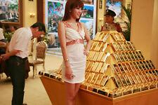 Beautiful Brick Ingot Gold Bar Replica Props nice gift decoration Movie Memorabi