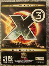 X3: Reunion  (PC, 2005) XCom Enlight Windows Game
