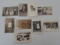 Vintage Real Photo Postcard People