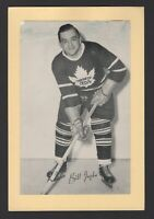 1944-63 Beehive Group II Toronto Maple Leafs Photos #412 Bill Juzda