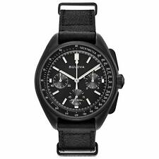 Bulova Men's 98A186 Special Edition Lunar Pilot Chronograph Moon Watch