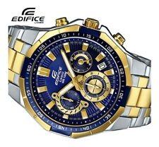 Casio Edifice Mens Chronograph Luxury Sports Watch 100M EFR554SG-2AV UK Seller