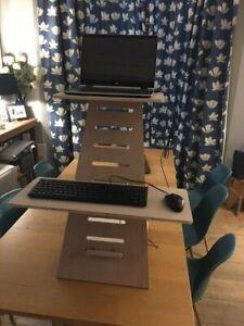 Wooden Adjustable Standing Desk