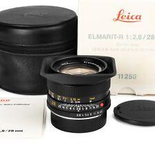 Leica 28mm F2.8 ELMARIT-R VERSION II E55 EXC+