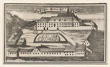 Monastère gotteszell (Basse-Bavière). - cuivre clés de A.W. ERTL, 1705