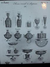 Baccara-St Louis 1841 Katalog Buch Kristall Crystal 74 Seiten Pdf