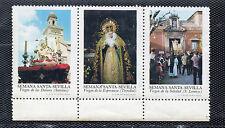 Viñetas con Imagenes de la Semana Santa de Sevilla año 1973 (CV-893)