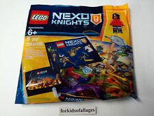 Lego 5004388 Nexo Knights Intro Pack: Minifigure + Keychain NEW Promo Polybag