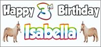 2 PERSONALISED Sloth 12th Birthday Banner X2 Party Decorations Boys Girls Kids