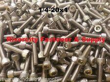 "(50) 1/4-20x1 Socket Allen Head Cap Screw Stainless Steel 1/4 x 1"""