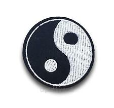 Yin Yang Taijitu Symbol Sew On Embroidered Patch Patches Applique Motif Badge