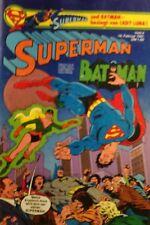 BRONZE AGE + EHAPA + DC + GERMAN + 4 + 1981 + SUPERMAN + LADY LUNA +