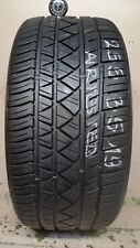 1 Tire 255 35 19 Continental Surecontact Rx (70-75% Tread)