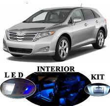 LED for Toyota Venza Blue Interior + License plate + Vanity + Reverse (16 Pcs)