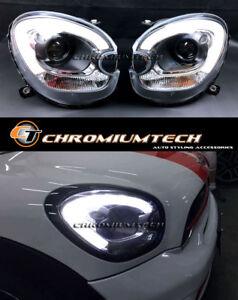 MINI Cooper R60 Countryman R61 Paceman F60 Look Headlights LED DRL for Xenon LHD