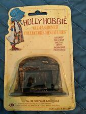 Holly Hobbie Die-Cast Metal ~ Fireplace & Utensils ~ Dollhouse Size