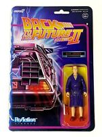 Back To The Future Part II Biff Tannen Super7 ReAction 3.75 Action Figure New