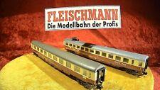Fleischmann 2er Set TEE IC 8160 Abteilwagen + 8165 Quick Pick 💥 Vitrine [0505]