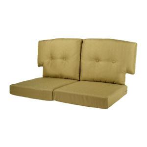 Martha Stewart Living Charlottetown Loveseat Green Bean  Cushion New