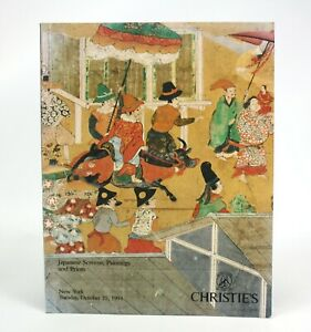 Christie's Japanese Screens, Paintings and Prints, New York, October 25 1994.
