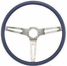 1969 Camaro, 69-70 Chevelle, Impala, Nova BLUE Steering Wheel 3-Spoke Comfort