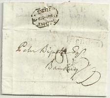 1823 Hendon PMK a Banbury 7 NIGHT 7 (stornato 7) marchio di tempo in nero l471a