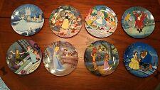 Nib: Knowles Disney's Treasured Moments Collector Plates (Set of 8)
